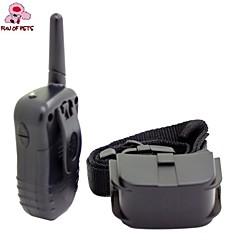 Cães bark Collar / Coleiras de Adestramento para Cães 300M / anti Bark / Controle Remoto / Choque / Electrónico/Elétrico / LCD Preto
