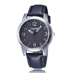 Unisex Leather Band Japan Quartz Wrist Watch(Assorted Colors)