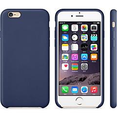 Til Etui iPhone 7 Etui iPhone 7 Plus Etui iPhone 6 Etui iPhone 6 Plus Etui iPhone 5 Støtsikker Etui Bakdeksel Etui Ensfarget Hard PU-lær