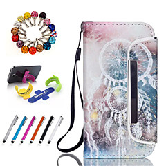 Good Quality PU Leather with Stylus Pen, Dustproof Plug and Stand for Samsung Galaxy S3/S4/S4 mini/S5/S5 mini/S6/S6 edge