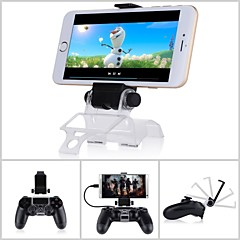 Black Smart Phone Clip  Mount Adjustable Bracket   For Sony PS4 Controller