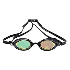 Super-K Unisex Plating anti fog Swimming Goggles Waterproof Adjustable Size Silicon PC Goggles
