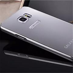 For Samsung Galaxy Note Belægning Spejl Etui Bagcover Etui Helfarve Metal for Samsung Note 5 Edge Note 5 Note 4 Note 3