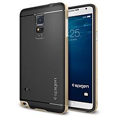 For Samsung Galaxy Note Stødsikker Etui Bagcover Etui Armeret TPU for Samsung Note 4