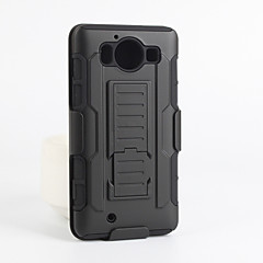 Για Θήκη Nokia Θήκες Καλύμματα Ανθεκτική σε πτώσεις με βάση στήριξης Πίσω Κάλυμμα tok Πανοπλία Σκληρή PC για Nokia Nokia Lumia 950