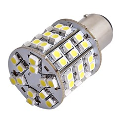 2 stuks auto t25 BAY15D 1157 staart stop rem lamp 3528smd wit 60 LED-licht 12v
