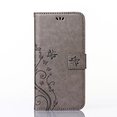 Til Etui iPhone 7 Etui iPhone 7 Plus Etui iPhone 6 Etui iPhone 6 Plus Etui iPhone 5 Lommebok Kortholder med stativ Flipp Mønster Etui