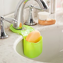 ZIQIAO Multifunctional Kitchen Bathroom Storage Bag Debris Drain (Random colors)