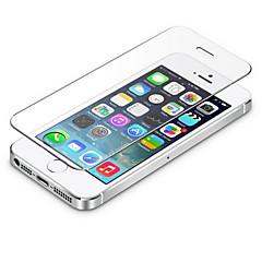 0.3mm gehard glas screen protector met microfiber doekje voor iPhone 5 / 5s / 5c