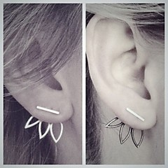 Alloy Earring Drop Earrings Party / Daily / Casual 1set