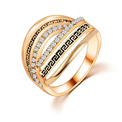 Ring Wedding / Party / Daily / Casual Jewelry Zircon Women Band Rings 1pc,6 / 7 / 8 / 9