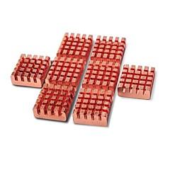 8 szt VGA RAM chłodzenie miedziane radiatory chłodnica + przewód tie kosmos