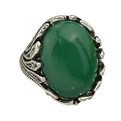 Colored Single Big Stone Ring