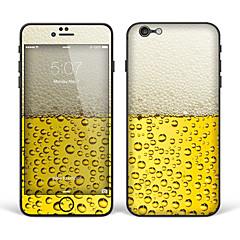"iPhone 6 Plus/6S Plus Body Art Skin Sticker: ""Beer"" (Creative Series)"