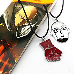 Mehre Accessoires Cosplay Cosplay Anime Cosplay Zubehör Rot / Silber Legierung