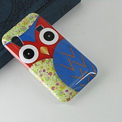 For Samsung Galaxy Case Pattern Case Back Cover Case Owl PC Samsung Ace