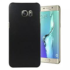 Varten Samsung Galaxy S7 Edge Kuvio Etui Takakuori Etui Yksivärinen PC SamsungS7 edge / S7 / S6 edge plus / S6 edge / S6 / S5 / S4 Mini /