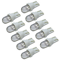 YouOKLight® T10 0.2W 30-60lm 6000-6500K White Light LED Bulb Car Signal Lamp (DC 12V/10PCS)