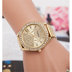 European and American men and women selling Swiss quartz watch personality digital gold alloy steel watches