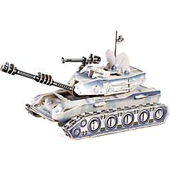 직소 퍼즐 3D퍼즐 빌딩 블록 DIY 장난감 탱크 종이 핑크 모델 & 조립 장난감
