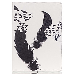 Feather Folio Leather Stand Cover Case With Stand for iPad Air
