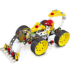Jigsaw Puzzles 3D Puzzles / Metal Puzzles Building Blocks DIY Toys Car 146 Metal Red / Yellow / Silver Model & Building Toy