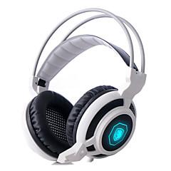 sades arcmage 3,5mm pc játék felett fülhallgató sztereó gaming fejhallgató mikrofonnal& hangerőszabályozó