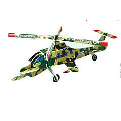 직소 퍼즐 3D퍼즐 빌딩 블록 DIY 장난감 비행기 종이 화이트 / 실버 / 그레이 / 브라운 모델 & 조립 장난감
