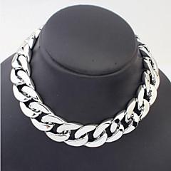 Halsband Kedje Halsband Smycken Dagligen / Casual Legering Gyllene / Svart / Silver 1st Present