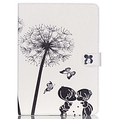 Child of Dandelion Folio Leather Stand Cover Case With Stand for iPad Air