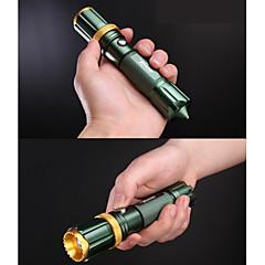 Oświetlenie Latarki LED LED 250 Lumenów 3 Tryb Cree Q5 18650 AAA USBRegulacja promienia Wodoodporne Akumulator Odporne na czynniki