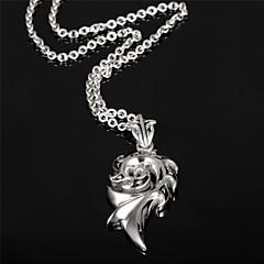 Flame Man Titanium Steel Necklace