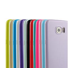 Für Samsung Galaxy S7 Edge Muster Hülle Rückseitenabdeckung Hülle Einheitliche Farbe TPU Samsung S7 edge / S7