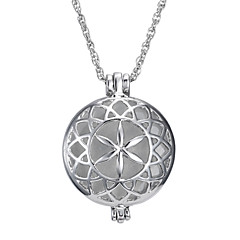 The New Round Hollow Luminous Pendant Necklace