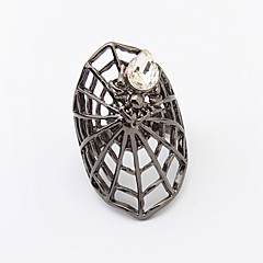Women's New European Fashion Exaggerated Cobwebs Ring