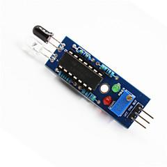 Czujnik unikania przeszkód ir linia moduł Arduino + Raspberry Pi śledzenia - niebieski