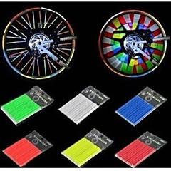 Egyéb-Kerékpár / Mountain bike / BMX / Szórakoztató biciklizés-Mások(ezüstös / Kék / Sárga / Zöld / Orange,ABS)Mások Mások 12PCS