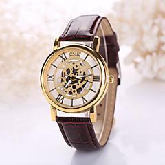 Unisex Skeleton Watch Fashion Trends Hollow Belt Quartz Watch Men And Women  (Assorted Colors) Cool Watches Unique Watches