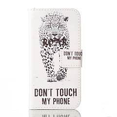 For iPhone 6 Case / iPhone 6 Plus Case with Stand / Flip / Pattern Case Full Body Case Animal Hard PU LeatheriPhone 6s Plus/6 Plus /
