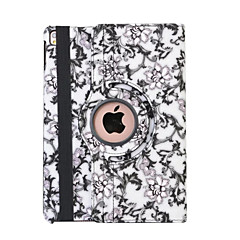360 Degree Blue And White Porcelain PU Leather Flip Cover Case for iPad Air (Assorted Colors)