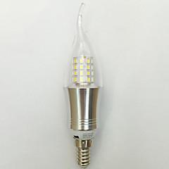 9W E14 LED-stearinlyspærer C35 45 SMD 2835 850 lm Varm hvid Kold hvid Dekorativ Vekselstrøm 85-265 V 1 stk.