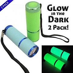 LED taskulamput LED 1 Tila 100 Lumenia Vedenkestävä / Pienikokoiset / Pocket LED AAA Telttailu/Retkely/Luolailu / Päivittäiskäyttöön-Muut,
