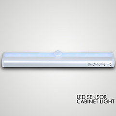 LED sensor cabinet light 10LED AAA Batteries 50000hrs Life expectancy 50000hrs
