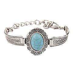 Heren Dames Vintage Armbanden Birthstones Geboortestenen Kostuum juwelen Turkoois Legering Sieraden Voor Bruiloft Feest Dagelijks Causaal