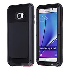 For Samsung Galaxy Note Stødsikker Etui Heldækkende Etui Armeret Metal for Samsung Note 5