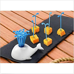 Novelty Portable Whale Fruit Cake Salad Forks Kitchen