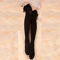 Skarpety i Pończochy Gothic Lolita Lolita Black Lolita akcesoria Pończochy Koronkowe Dla Bawełna