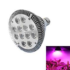 12W E26/E27 Lampes Horticoles LED PAR30 12 LED Haute Puissance lm Rouge / Bleu AC 85-265 V 1 pièce