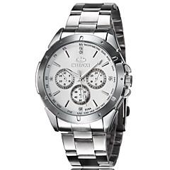 Men's Fashion Watch Retro Strip Three Business Fashion Quartz Watch  (Assorted Colors) Wrist Watch Cool Watch Unique Watch