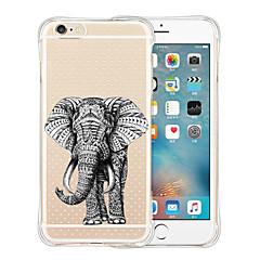 monde animal retour silicone étui transparent souple pour iphone 6 / 6s (couleurs assorties)